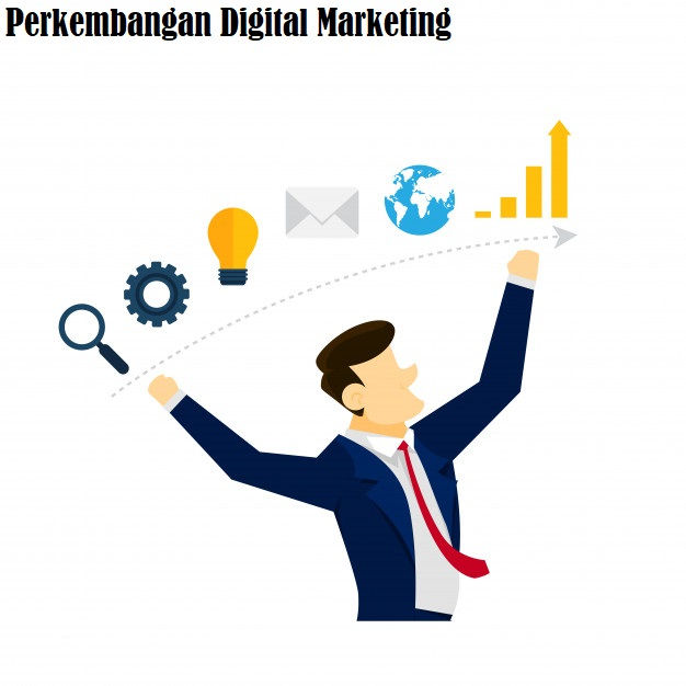 Perkembangan Digital Marketing